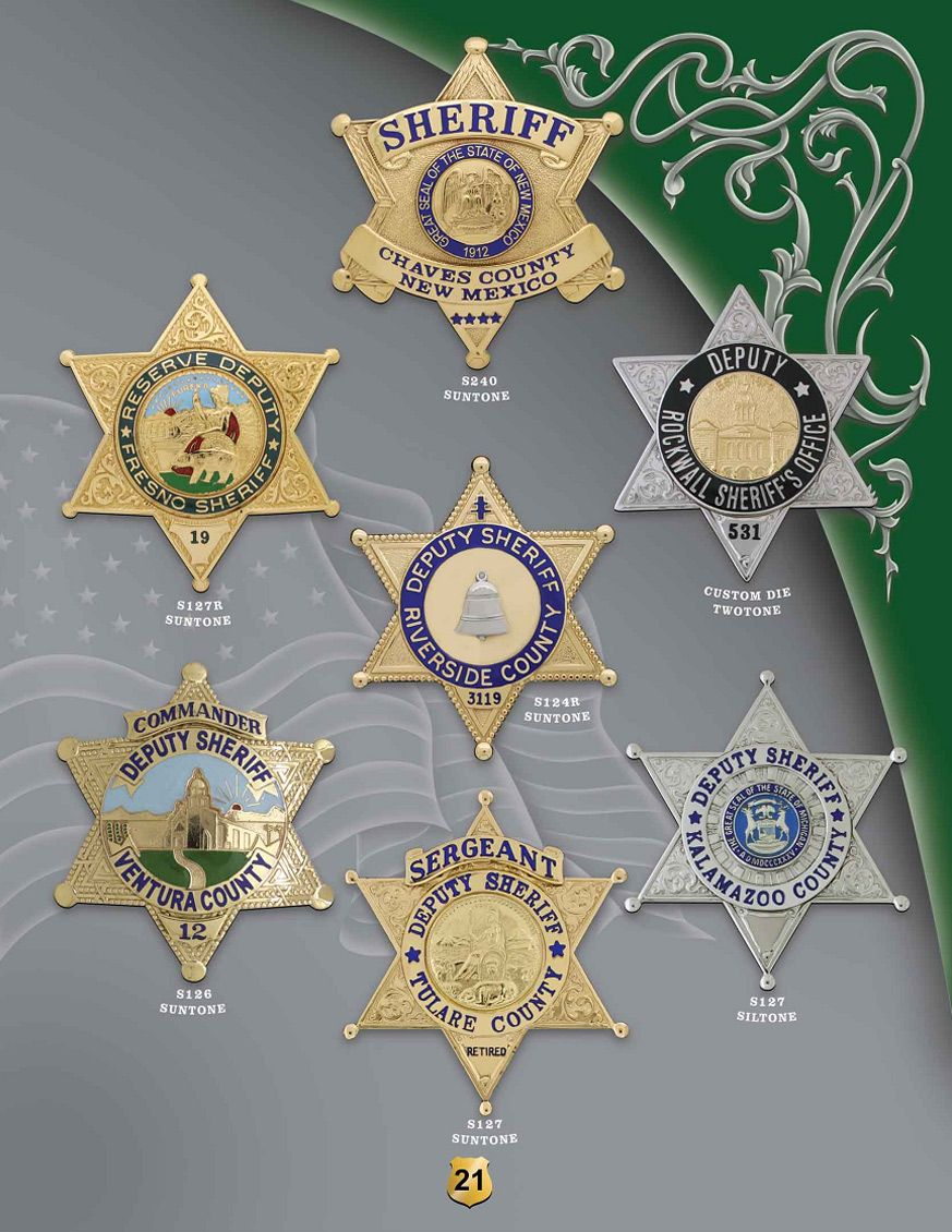 Sheriff Badges