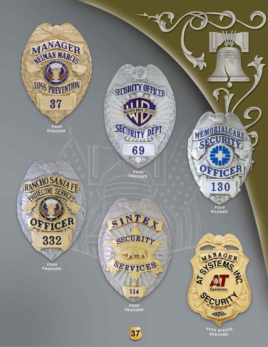 Security Badges
