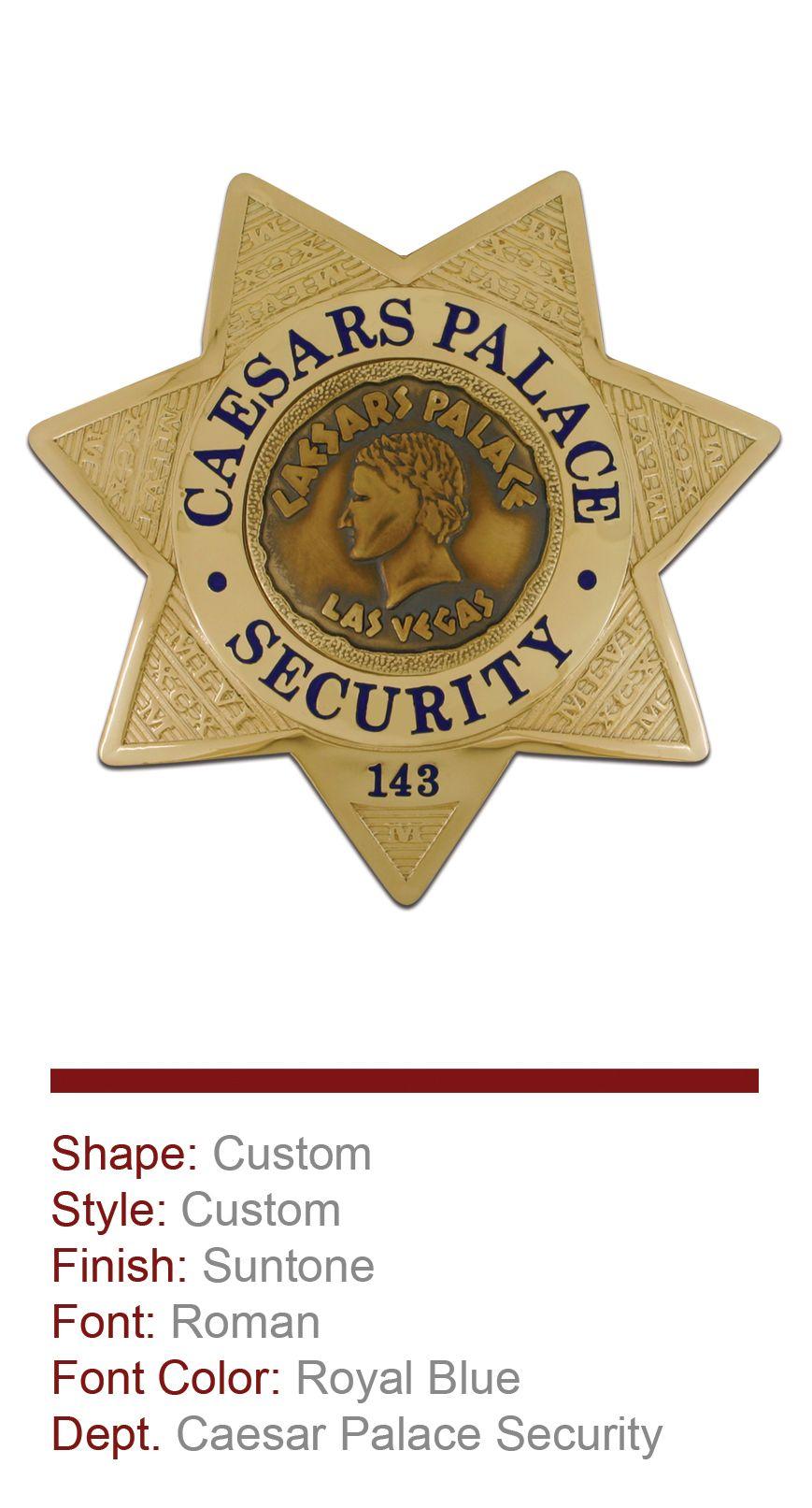 Caesar Palace Security