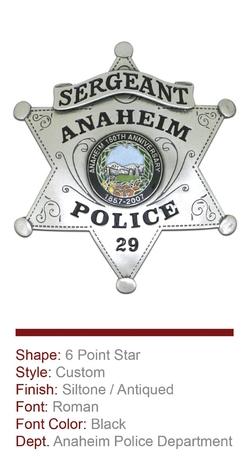Anaheim Anniversary Badge