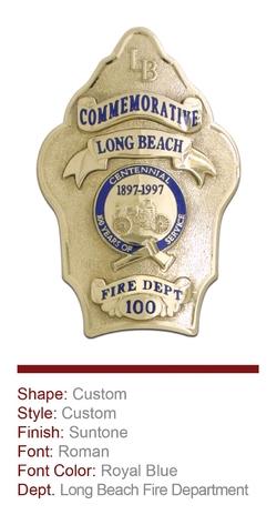 Long Beach Anniversary Badge